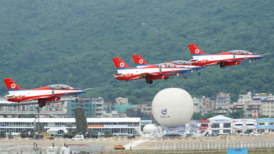 12 - Hongdu JL-8 - China - Air Force