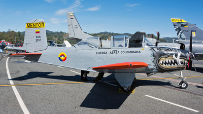 FAC2337 - Beechcraft T-34A Mentor - Colombia - Air Force