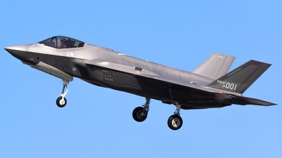 18-001 - Lockheed Martin F-35A Freedom Knight - South Korea - Air Force