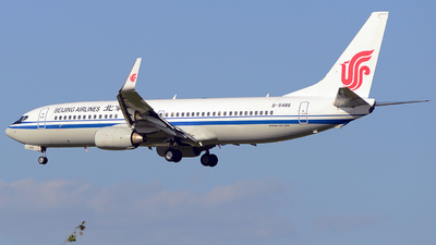 B-5486 - Boeing 737-89L - Beijing Airlines