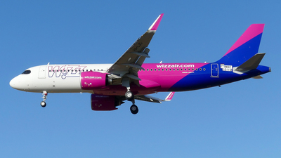F-WWBT - Airbus A320-271N - Wizz Air