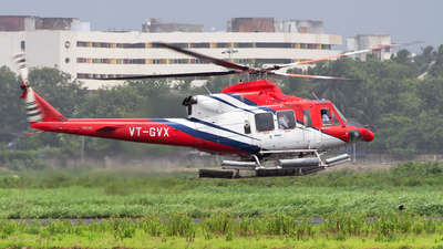 VT-GVX - Bell 412EP - Global Vectra Helicorp