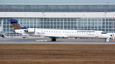 A picture of DACNI - Mitsubishi CRJ900LR - Lufthansa - © Jeremy Denton