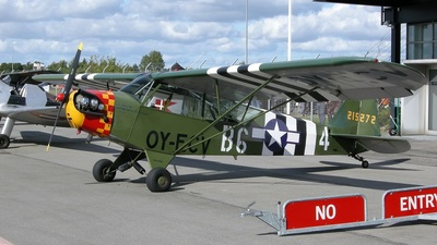 OY-ECV - Piper J-3C-65 Cub - Private