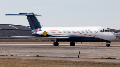 A picture of N205US - McDonnell Douglas DC932CF - USA Jet Airlines - © Alexandre Fazan