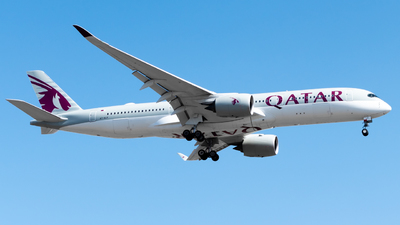 A picture of A7ALV - Airbus A350941 - Qatar Airways - © Shylo Pavlo