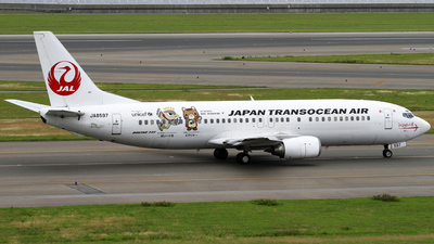 JA8597 - Boeing 737-4Q3 - Japan TransOcean Air (JTA)
