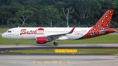 PK-LAW - Airbus A320-214 - Batik Air