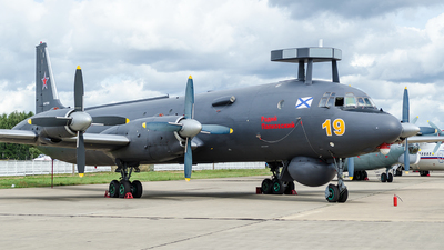 RF-75355 - Ilyushin IL-38 May - Russia - Navy