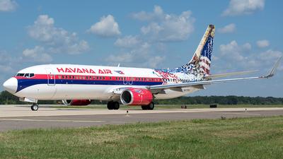 N277EA - Boeing 737-8CX - Havana Air (Swift Air)