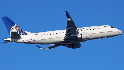 N751YX - Embraer 170-200LR - United Express (Republic Airlines)
