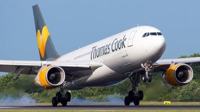 G-MLJL - Airbus A330-243 - Thomas Cook Airlines