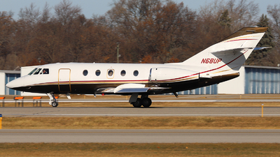 N68UP - Dassault Falcon 20 - Private