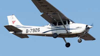 A picture of B7926 - Cessna 172R Skyhawk - [17281301] - © ShirokaneRinko
