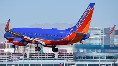 N7750A - Boeing 737-7BD - Southwest Airlines