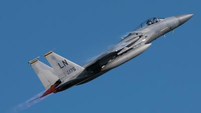 86-0175 - McDonnell Douglas F-15C Eagle - United States - US Air Force (USAF)