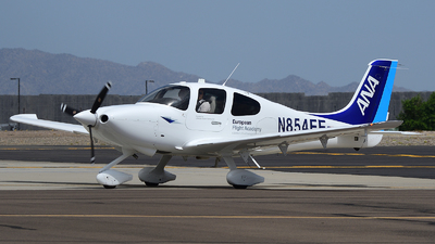 N854EF - Cirrus SR20-G6 - European Flight Academy