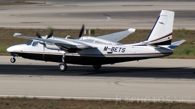 M-BETS - Rockwell 695 Jetprop 980 - Aldersey Aviation