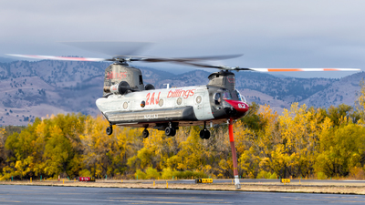 N562AJ - Boeing CH-47D Chinook - Billings Flying Service