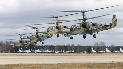 RF-90387 - Kamov Ka-52 Alligator - Russia - Army