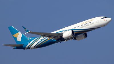 A picture of A4OME - Boeing 737 MAX 8 - Oman Air - © Alberto Cucini