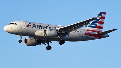 N772XF - Airbus A319-112 - American Airlines