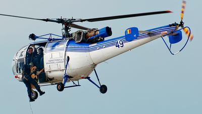 49 - IAR-316B - Romania - Unitatea Speciala de Aviatie