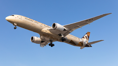 A6-BLQ - Boeing 787-9 Dreamliner - Etihad Airways