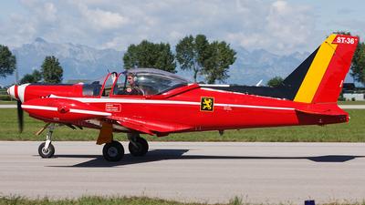 ST-36 - SIAI-Marchetti SF260M - Belgium - Air Force