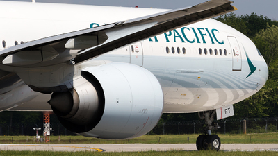 B-KPT - Boeing 777-367ER - Cathay Pacific Airways