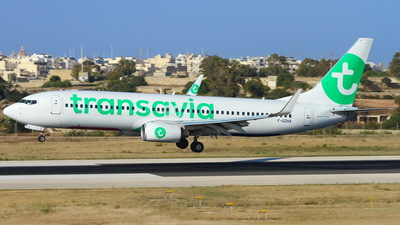 F-GZHA - Boeing 737-8GJ - Transavia Airlines