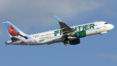 N228FR - Airbus A320-214 - Frontier Airlines