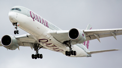 A picture of A7ALE - Airbus A350941 - Qatar Airways - © Joel Baverstock