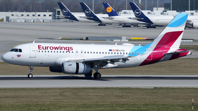 A picture of OELYU - Airbus A319132 - Eurowings - © Benjamin Exenberger