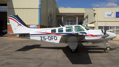 ZS-DFD - Beechcraft 58 Baron - Private
