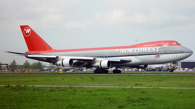 N626US - Boeing 747-251B - Northwest Airlines