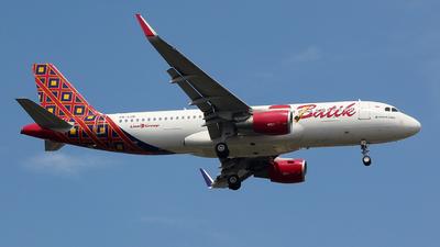 PK-LUK - Airbus A320-214 - Batik Air