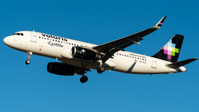 A picture of XAVLC - Airbus A320233 - Volaris - © Nick Sheeder
