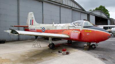 XR650 - Hunting Percival Jet Provost T.4 - United Kingdom - Royal Air Force (RAF)