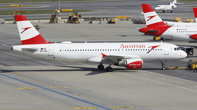 OE-LBI - Airbus A320-214 - Austrian Airlines
