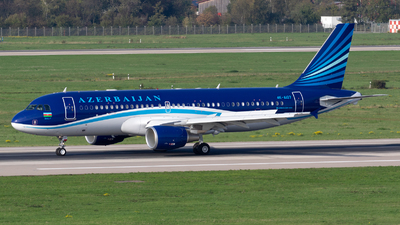 A picture of 4KAI07 - Airbus A320214(CJ) Prestige - Azerbaijan Airlines - © Jesse Vervoort