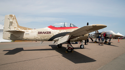 N8046D - North American T-28B Trojan - Draken International