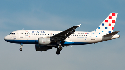 9A-CTG - Airbus A319-112 - Croatia Airlines