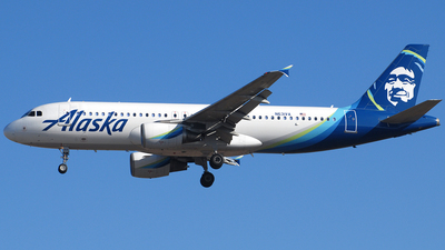 N631VA - Airbus A320-214 - Alaska Airlines