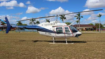 PT-HRQ - Bell 206B JetRanger III - Icaraí Taxi Aéreo