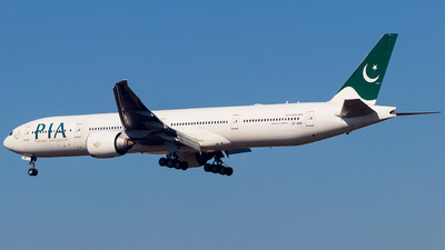 A picture of APBMS - Boeing 7773Q8(ER) - Pakistan International Airlines - © Baqir Kazmi