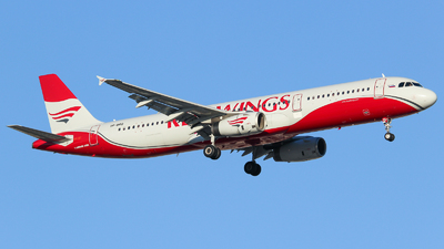 VP-BRQ - Airbus A321-231 - Red Wings