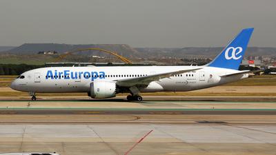 A picture of ECMIH - Boeing 7878 Dreamliner - Air Europa - © wim callaert