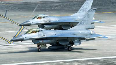 6613 - General Dynamics F-16A Fighting Falcon - Taiwan - Air Force