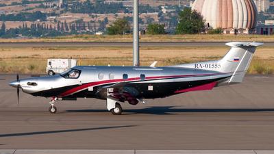 RA-01555 - Pilatus PC-12 NGX - Private